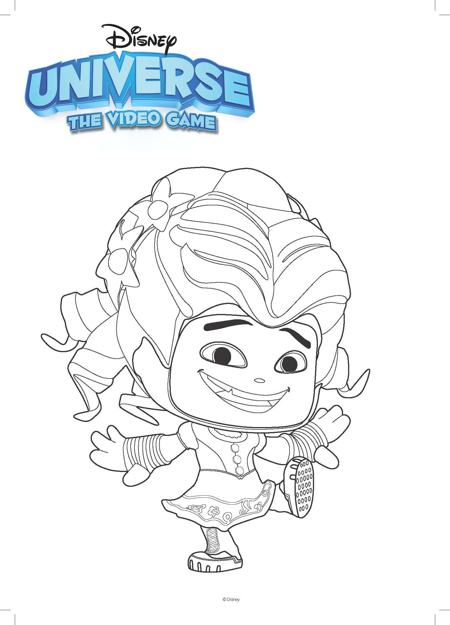 Disney Kleurplaat Alice