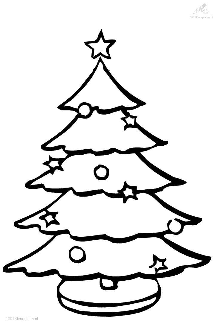 Kerstboom Tekening Groot Archidev