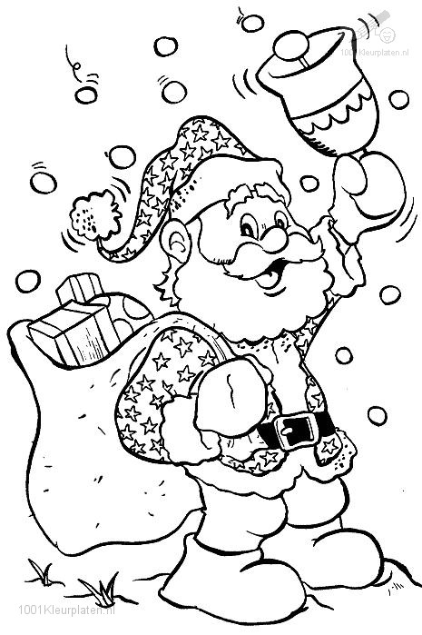 Kerstman Plaatje