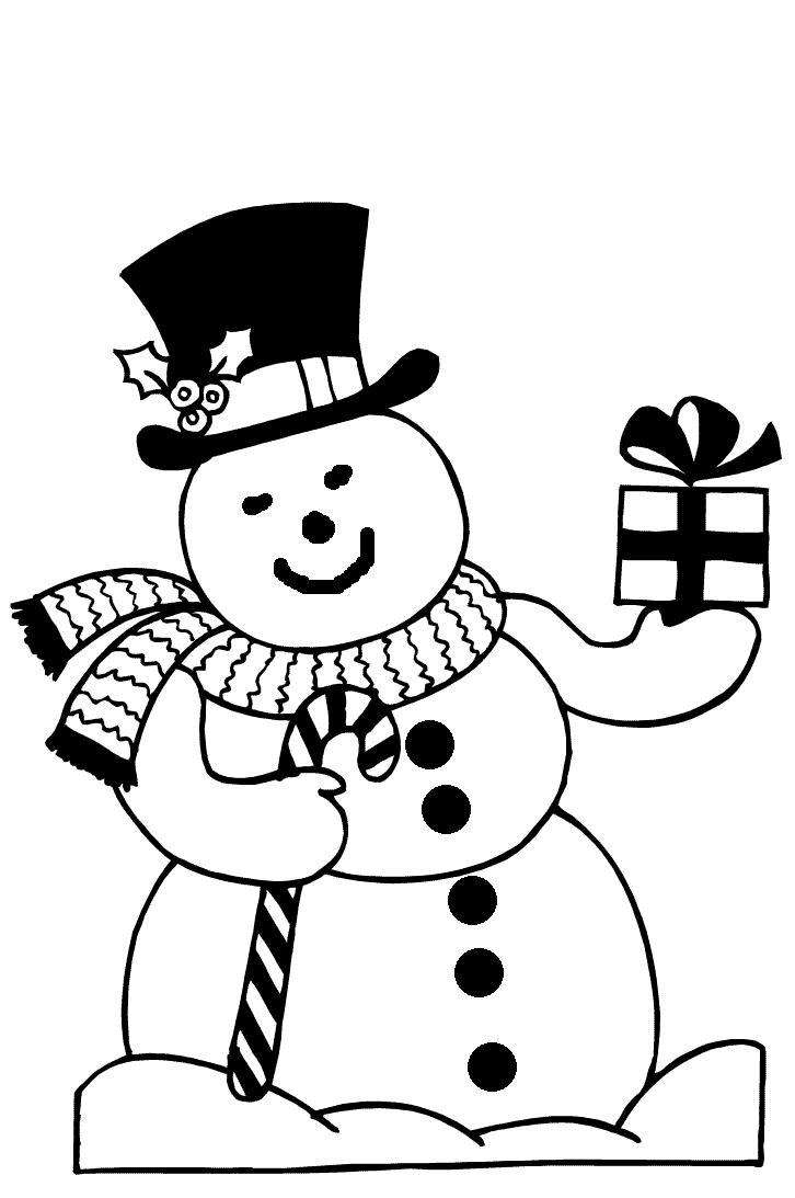 Kleurplaten Seizoen Winter.Kleurplaat Seizoen Winter Kleurplaat Sneeuwpop