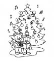 Kerstplaat liedjes zingen>> Kerst liedjes zingen onder de kerstboom
