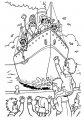 Kleurplaat Aankomst Sinterklaas>> Kleurplaat aankomst van sinterklaas