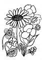 Kleurplaat Bloemen >> Kleurplaat Bloemen