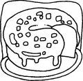Kleurplaat Cake>> Kleurplaat Cake