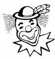 Kleurplaat Clown>> Kleurplaat Clown