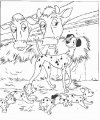 Kleurplaat Dalmatiers>> Kleurplaat Dalmatiers