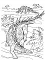 Dinosaurus Kleurplaat >> Dinosaurus Kleurplaat