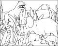 Kleurplaat Dinosaurus >> Kleurplaat Dinosaurus