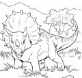 Kleurplaat Dinosaurus>> Kleurplaat Dinosaurus