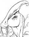 Kleurplaat Dinosaurus