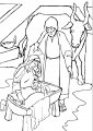 Kleurplaat Jozef Maria >> Kleurplaat Jozef Maria Jezus