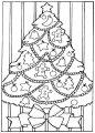 Kleurplaat Kerstboom >> Kleurplaat Kerstboom