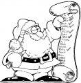 Kerstman Kleurplaat >> Kerstman Kleurplaat