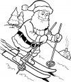 Kerstman Kleurplaat>> Kerstman Kleurplaat