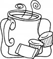 Kleurplaat Koffiepot>> Kleurplaat Koffie pot