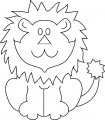 Kleurplaat Leeuw>> Kleurplaat Leeuw