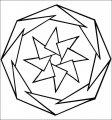 Kleurplaat Mandala>> Kleurplaat Mandala