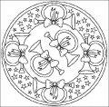 Mandala Kleurplaat >> Mandala Kleurplaat
