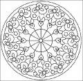 Mandala Kleurplaat>> Mandala Kleurplaat