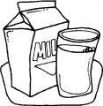 Kleurplaat Melk >> Kleurplaat Melk