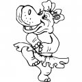 Kleurplaat Nijlpaard>> Kleurplaat Nijlpaard