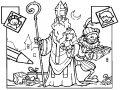 Kleurplaat Sinterklaas>> Kleurplaat Sinterklaas