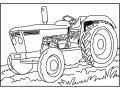 Kleurplaat Traktor>> Kleurplaat Traktor