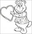 Kleurplaat Valentijnsdag >> Kleurplaat Valentijnsdag