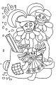 Kleurplaat Zwarte Piet >> Kleurplaat Zwarte Piet