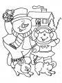 Frosty Kleurplaat>> Frosty Kleurplaat