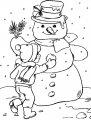 Frosty Kleurplaat >> Frosty Kleurplaat